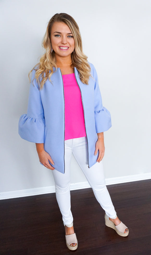 women's jackets, bell sleeve jacket, jackets for women
