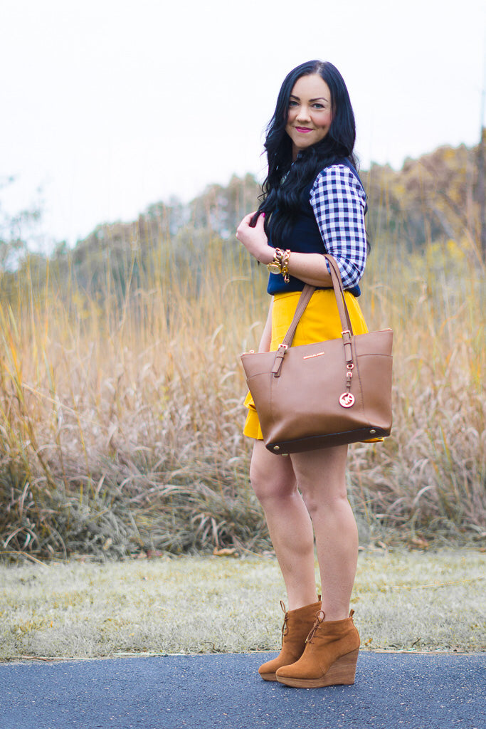 preppy fall fashion for women