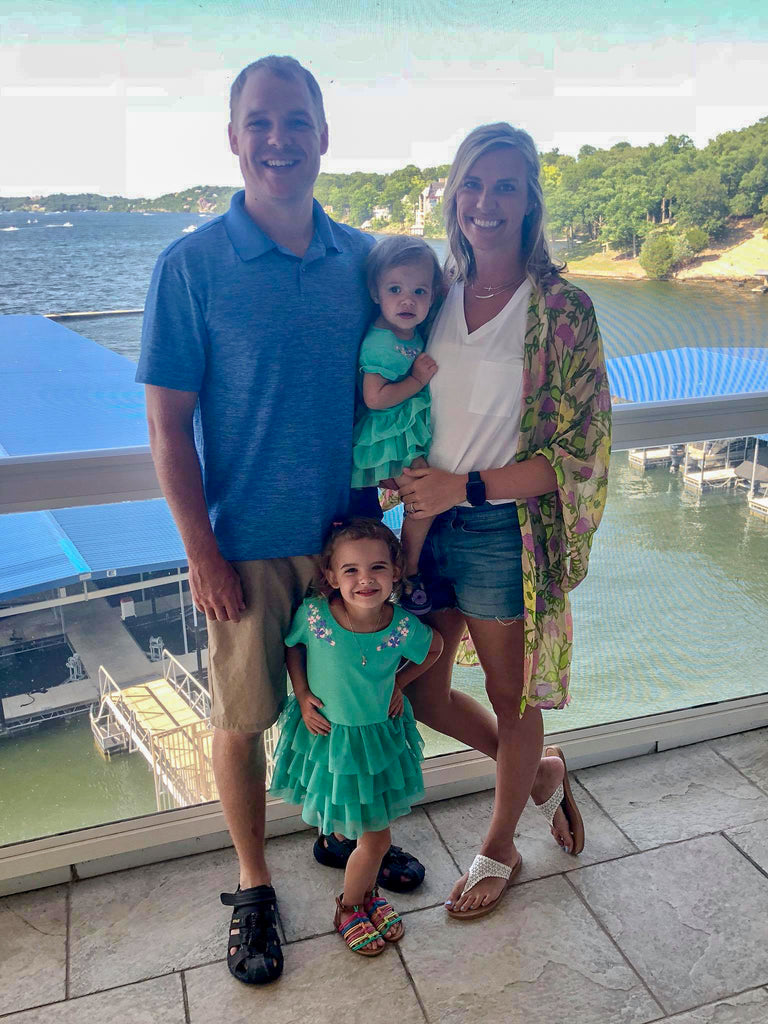 land's end condo, family photo, lake of the ozarks