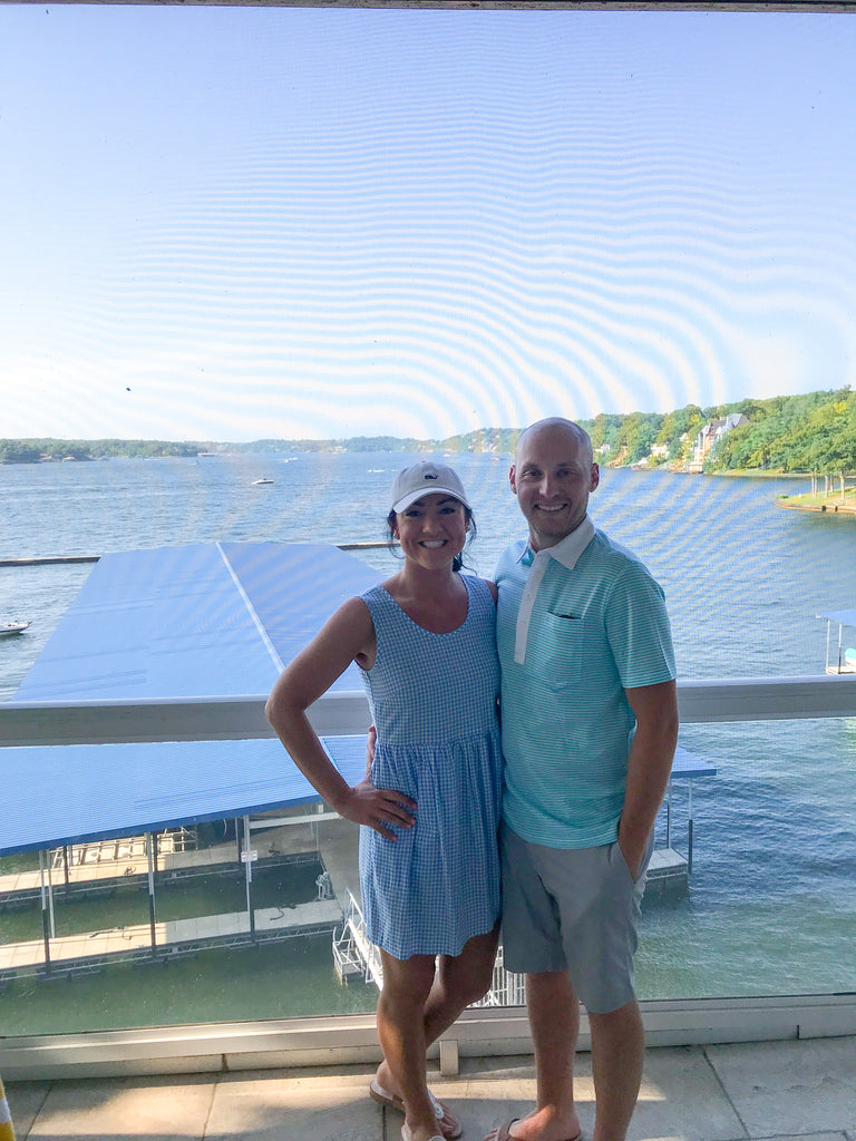 land's end condo, osage beach, lake of ozarks, preppy fashion, preppy couple