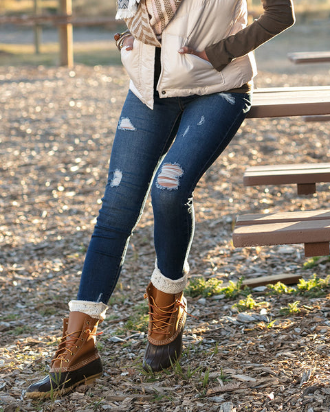 Fall trends, Distressed jegging outfit inspiration, apparel for women