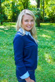 classy cardigan, classic cardigan, navy cardigan, high quality clothing for women