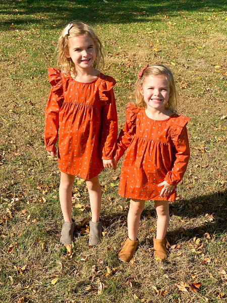 family photo shoot girls dresses