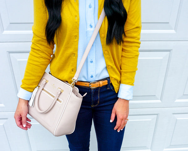 mustard cardigan, joules skye cardigan, fall classic style, fashion blogger