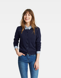 joules clothing, joules sweater, navy cardigan, preppy fall outfits