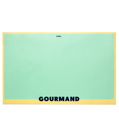 brklz Gourmand food mat lime