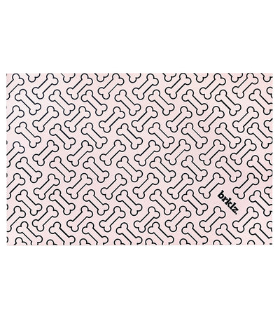 Bone brklz food mat Pink