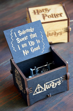 Custom Engraved - Harry Potter™ Limited Edition - Wooden Music Box