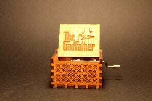 The Godfather Theme Song Handmade Wooden Music Box (Limited edition)