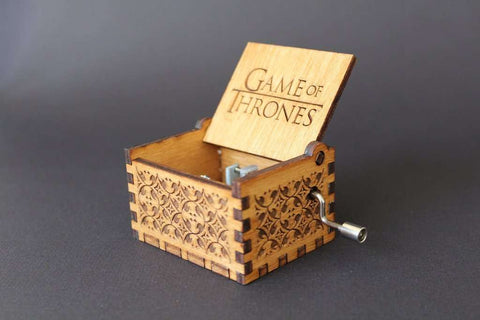 Game of Thrones Theme Song Handmade Wooden Music Box (Limited edition)