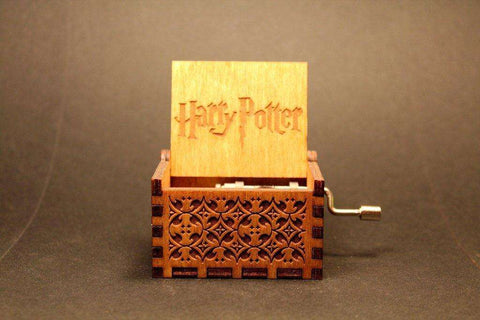 Image of Custom Engraved - Harry Potter™ Limited Edition - Wooden Music Box