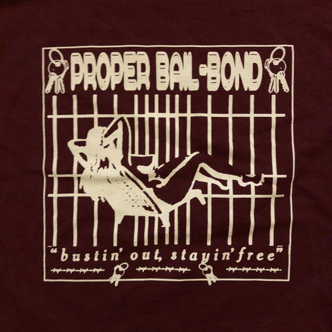 Bail Bond T - Maroon