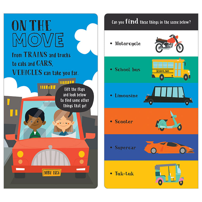 Activity Book - Busy Book Of Vehicles