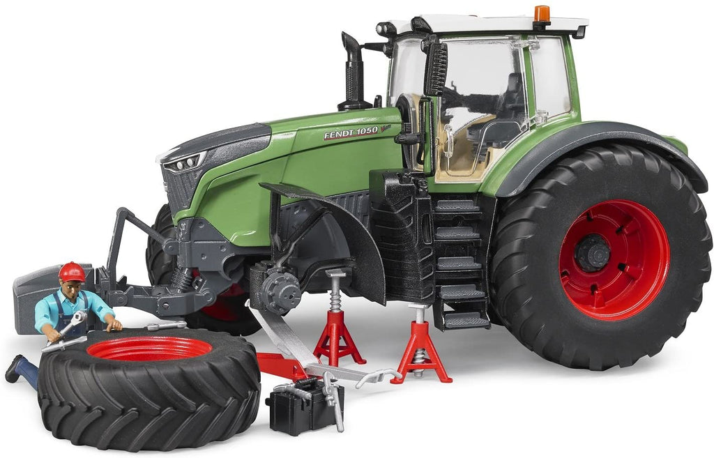 Bruder Fendt X 1000 Tractor w/ Repair Accessories