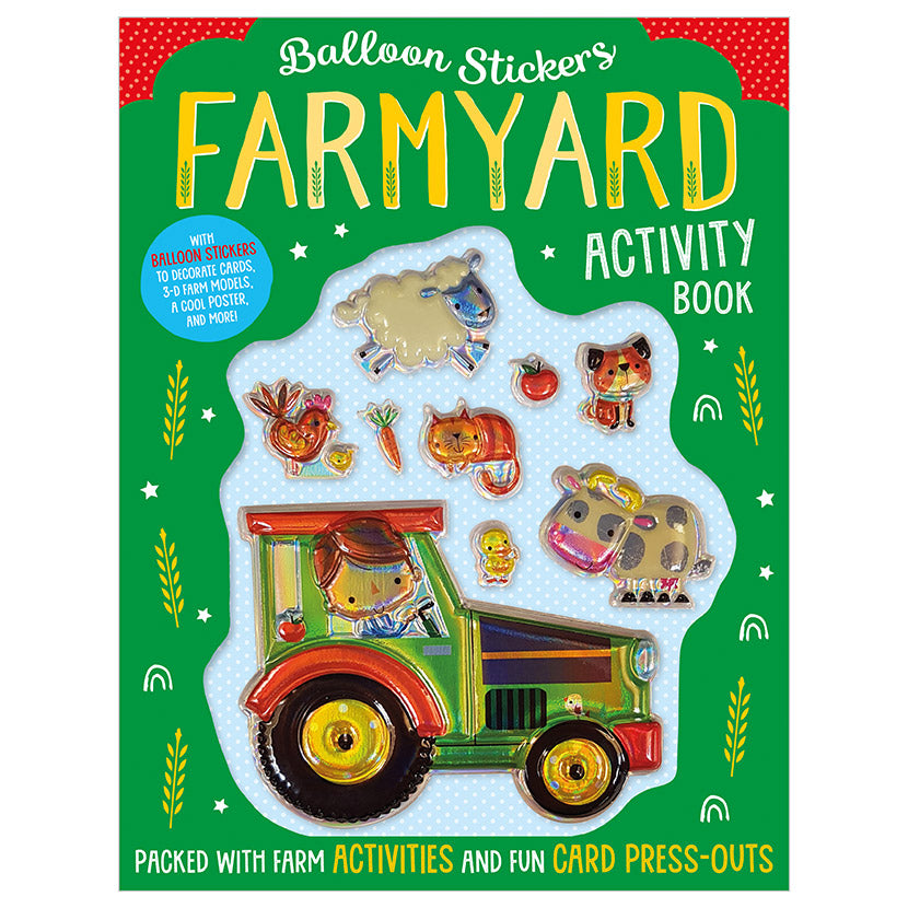 Activity Sticker Book - Farmyard
