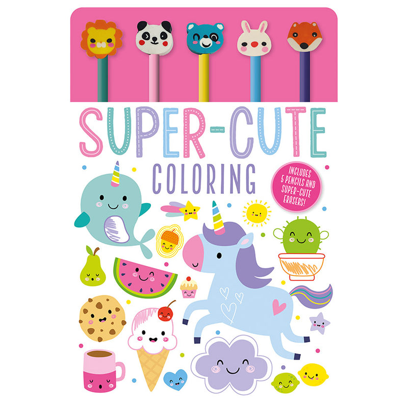 Super Cute Colouring Pad