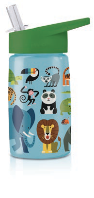 Crocodile Creek Tritan Kids Water Bottle - Jungle Friends