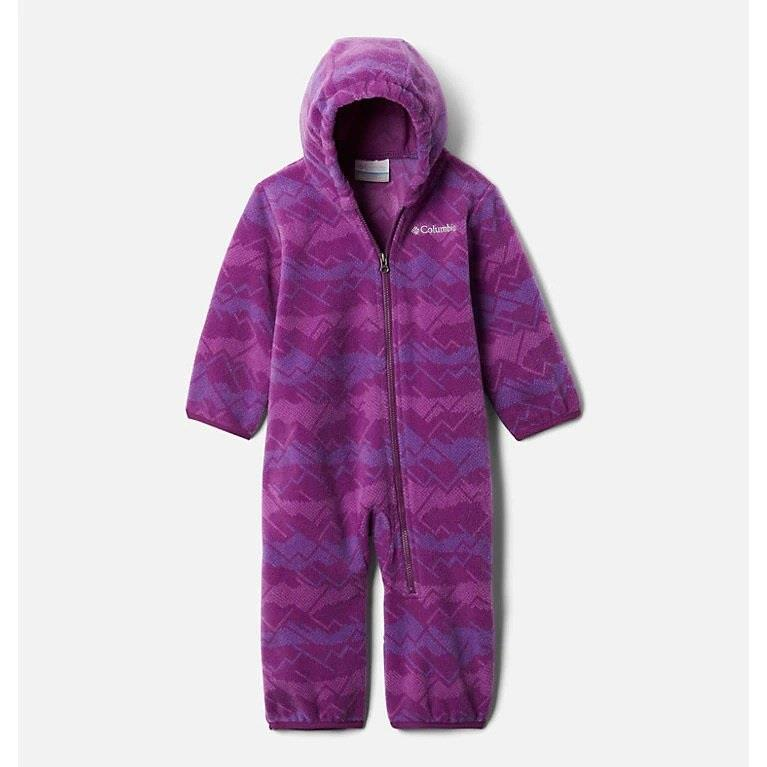 Columbia Bunting - Snowtop 2 Fleece - Plum Dotscape Print