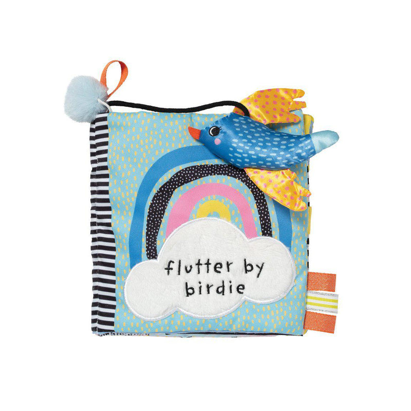 Manhattan Toys Soft Book - Flutter By Birdie