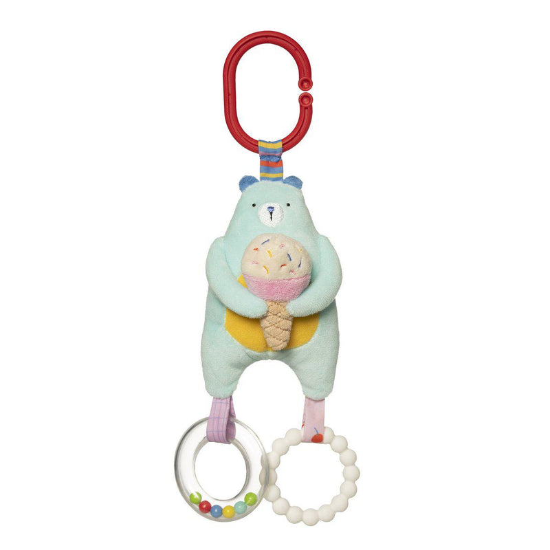 Manhattan Toys Cherry Blossom Bear Teether Rattle