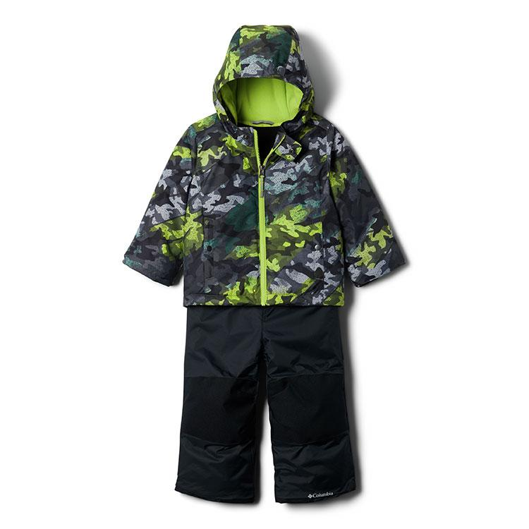 Columbia Snow Pant & Jacket Set - Frosty Slope - City Grey Brushed Camo