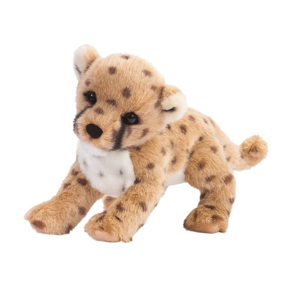 Douglas Cuddle Toys - Chillin' The Cheetah Cub