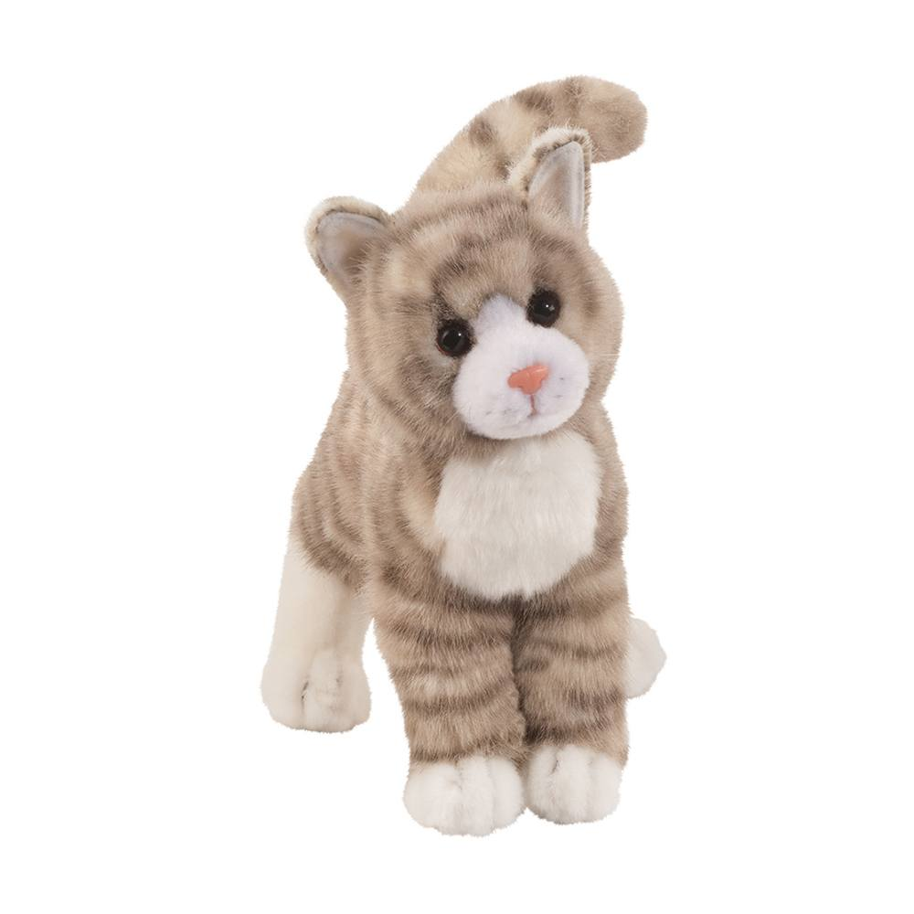 Douglas Cuddle Toys - Zipper The Grey Tabby Cat