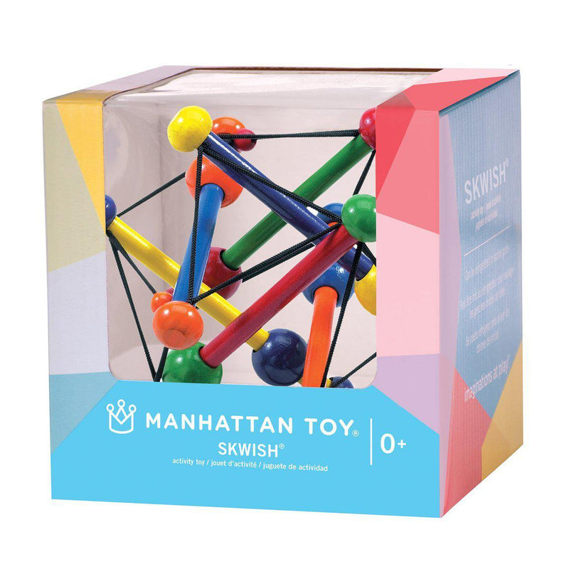 Manhattan Toys Skwish Wooden Baby Toy