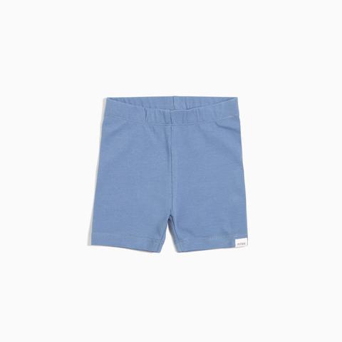 Miles Baby Bike Shorts - Candy Sky Blue/Grey