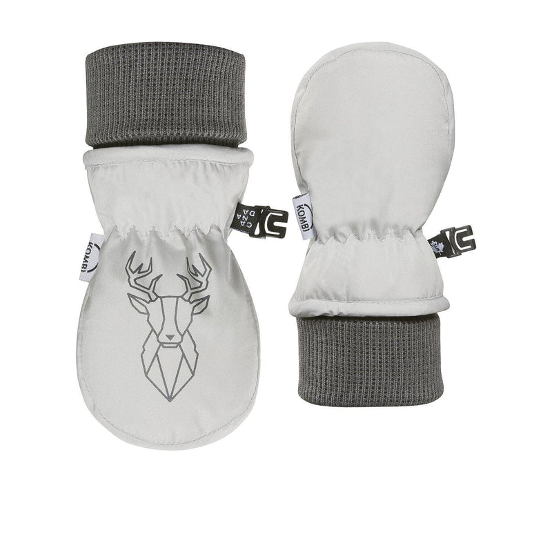 Kombi Mitt Baby Animal Family - Infant - Polar Grey Deer