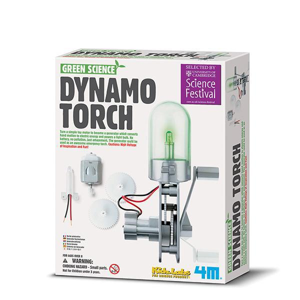 4M Green Science - Dynamo Torch