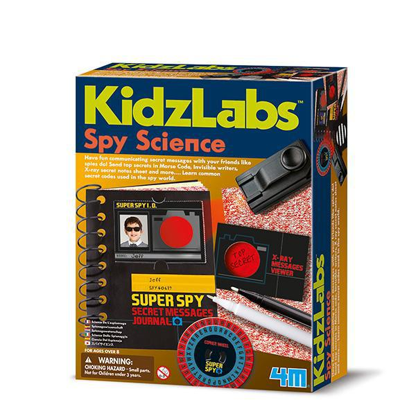 4M Kidz Labz - Spy Science – Secret Messages