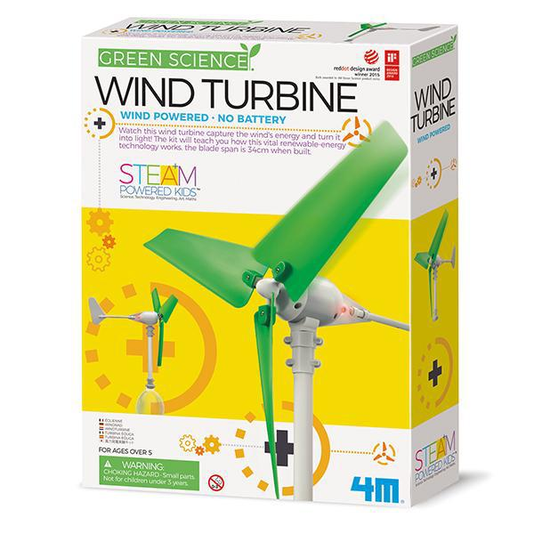 4M Green Science - Build Your Own Wind Turbine