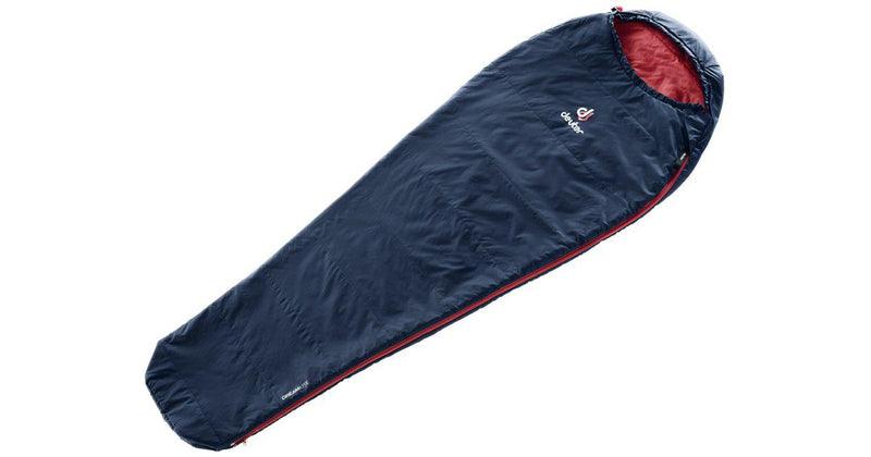 Deuter Sleeping Bag - Dreamlite L - Navy/Cranberry