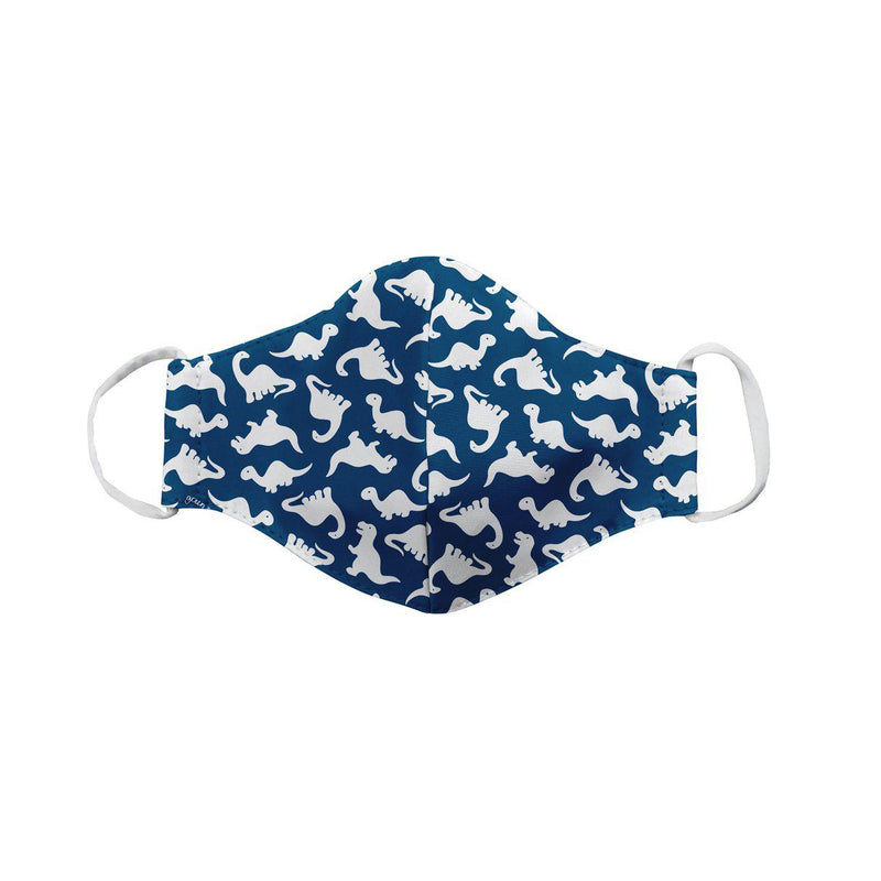 Green Sprouts Reusable Face Mask - Child- Navy Dino