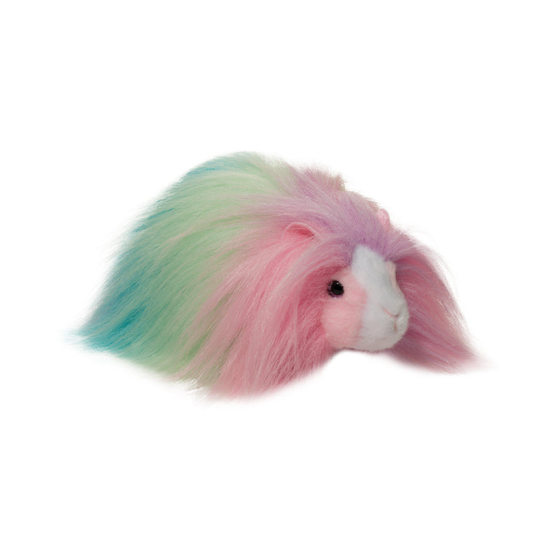 Douglas Cuddle Toys - Cheesecake The Rainbow Guinea Pig Fuzzle
