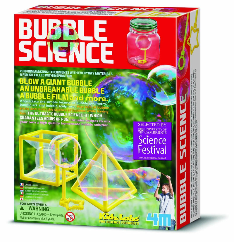 4M Kidz Labz - Bubble Science Kit
