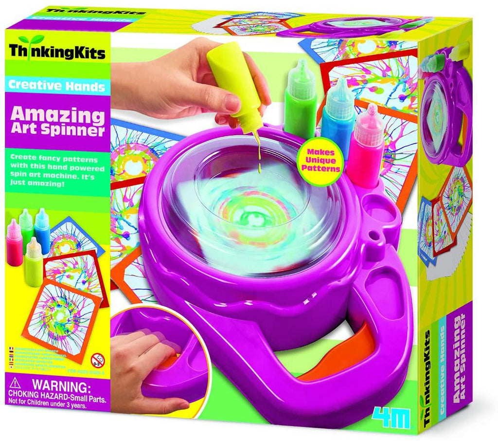 4M Thinking Kits - Amazing Art Spinner