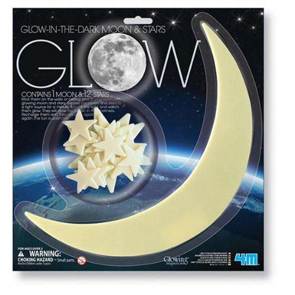 4M Glow In The Dark Stars & Moon