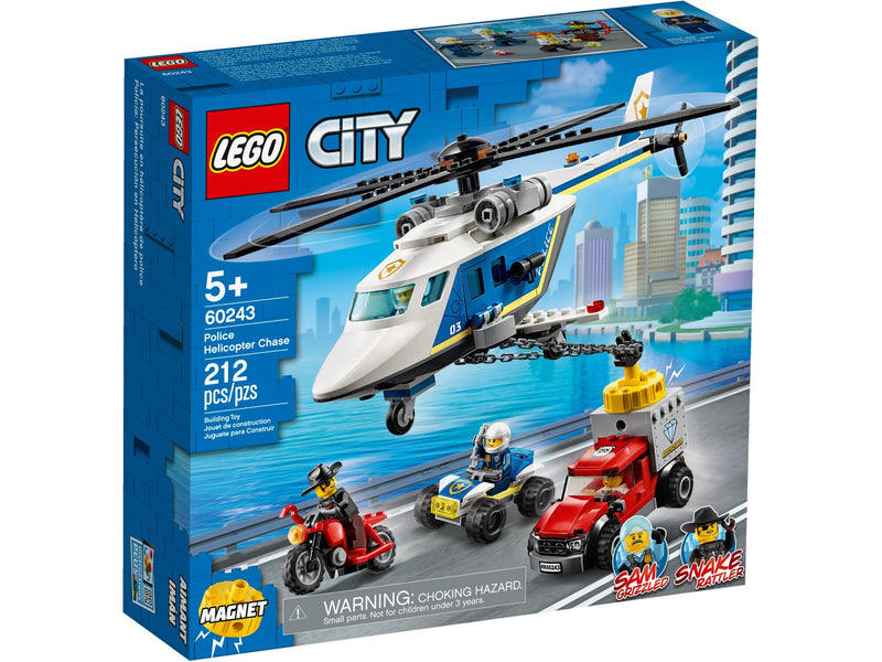 Lego City -  Police Helicopter Chase 60243