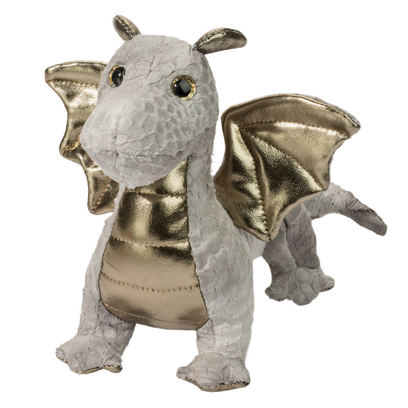 Douglas Cuddle Toys - Hydra The Silver Dragon