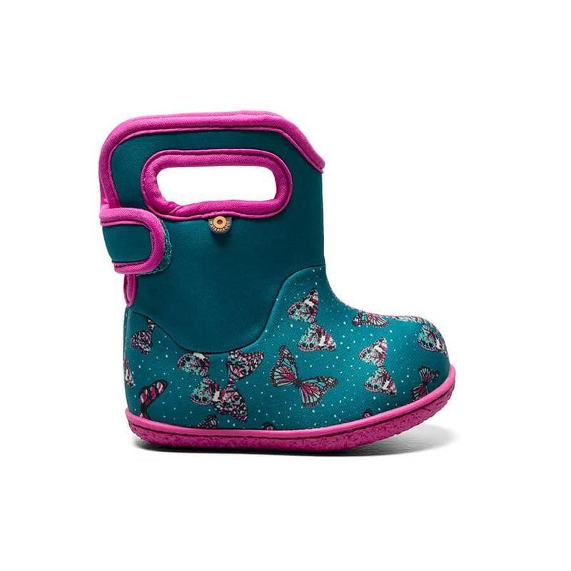 Bogs Winter Boots - Baby Bogs - Butterfly - Teal