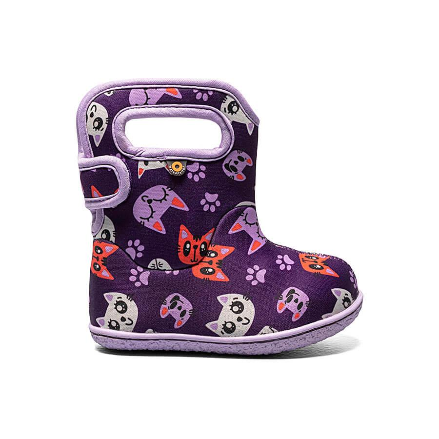Bogs Winter Boots - Baby Bogs - Kitty - Purple