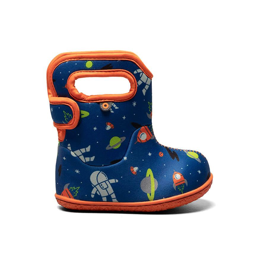 Bogs Winter Boots - Baby Bogs - Space - Blue