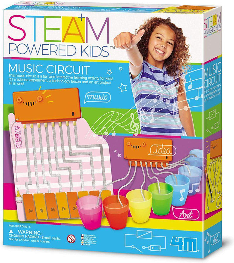 4M STEAM Powered Kids - Music Circuit Kit