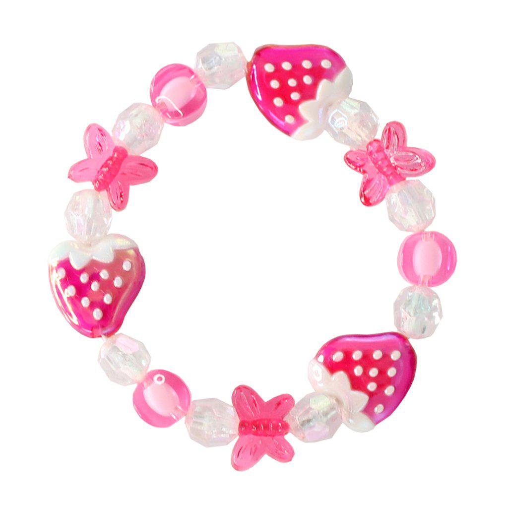 Great Pretenders Jewelry - Very Merry Strawberry Bracelet