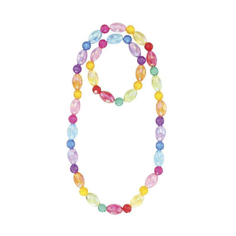 Great Pretenders Jewelry - Color-Me-Candy Necklace & Bracelet Set