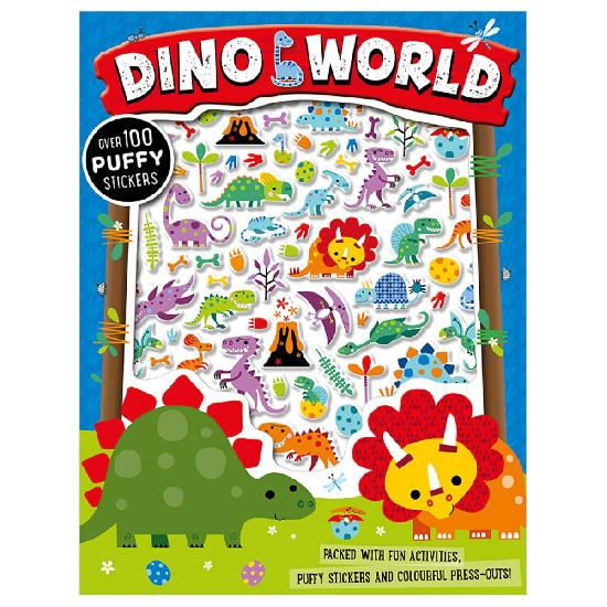 Activity Sticker Book - Dino World Puffy