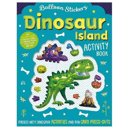 Activity Sticker Book - Dinosaur Island
