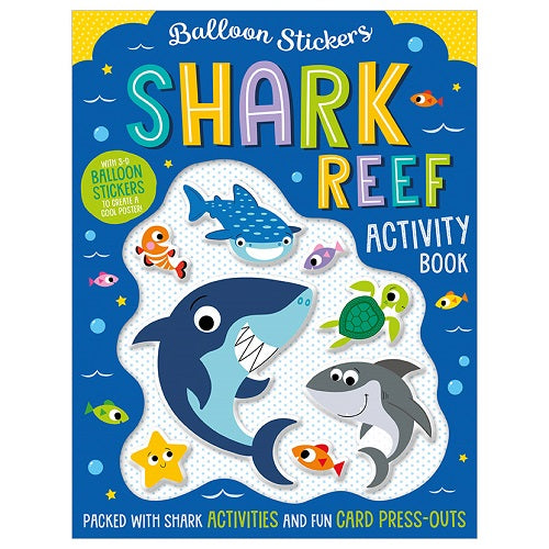 Activity Sticker Book - Shark Reef